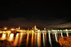 Nachts am Fluß