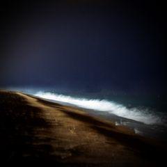 nachts am Meer...