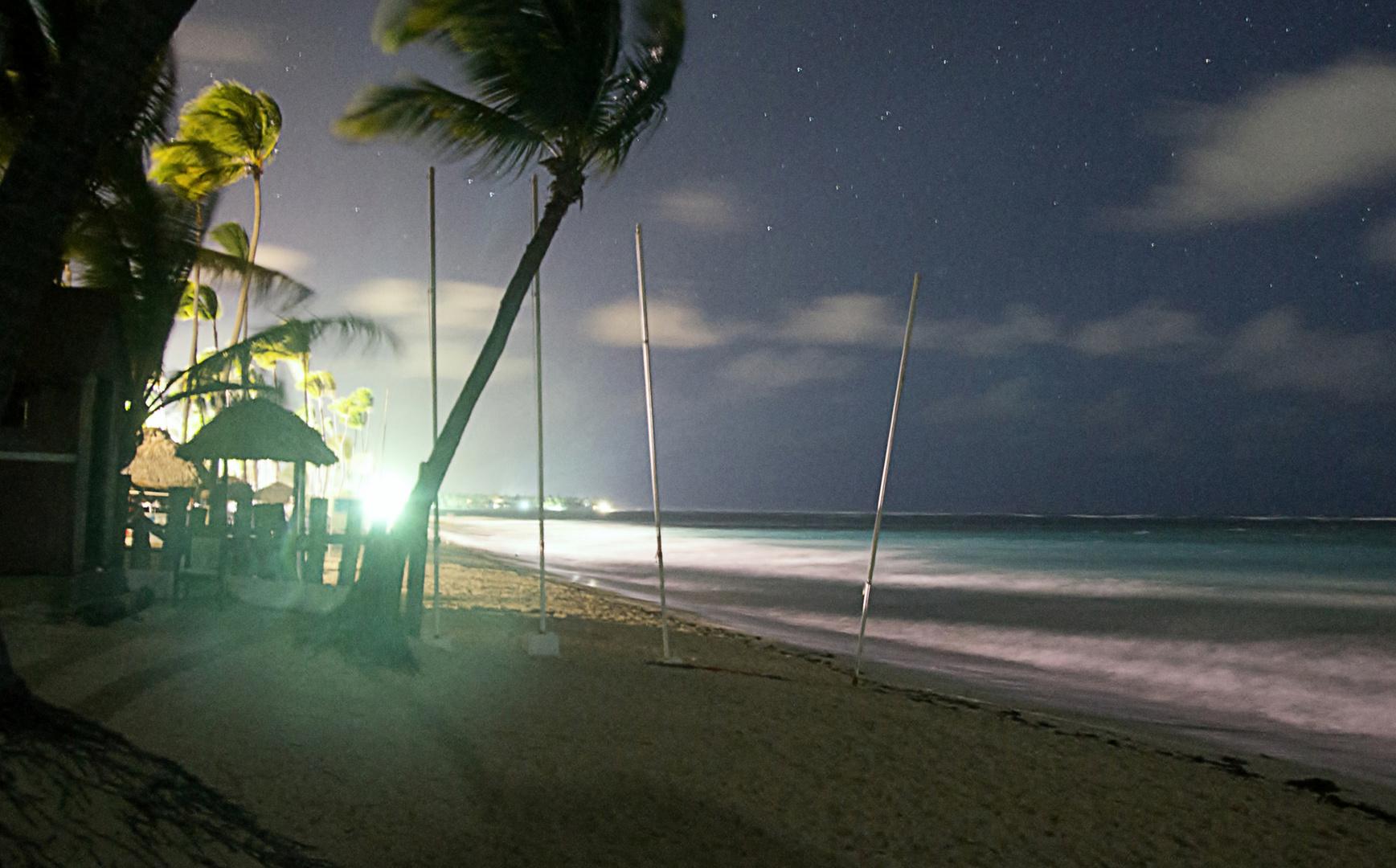 Nachts am Meer