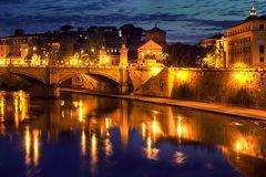 Nachts am Tiber