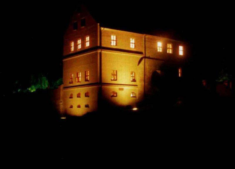 Nachts an der Penzliner Burg