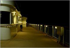 ... nachts auf Deck 15 ...