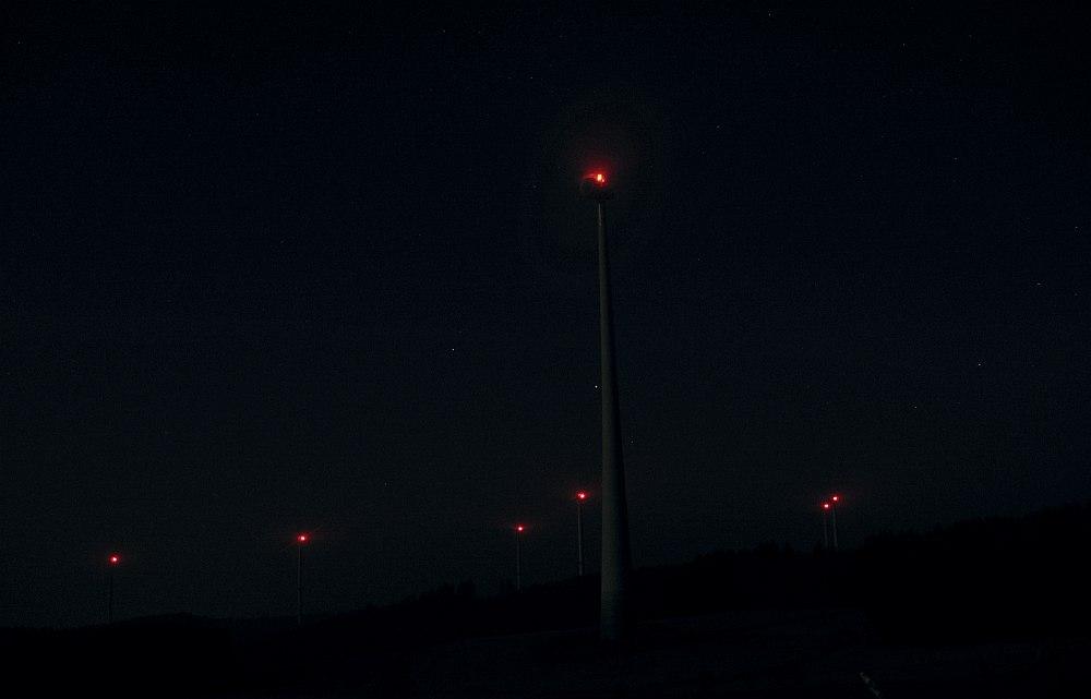 Nachts auf dem Heimweg