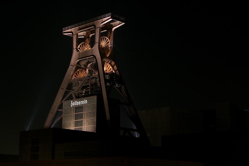 Nachts auf Zollverein (2)