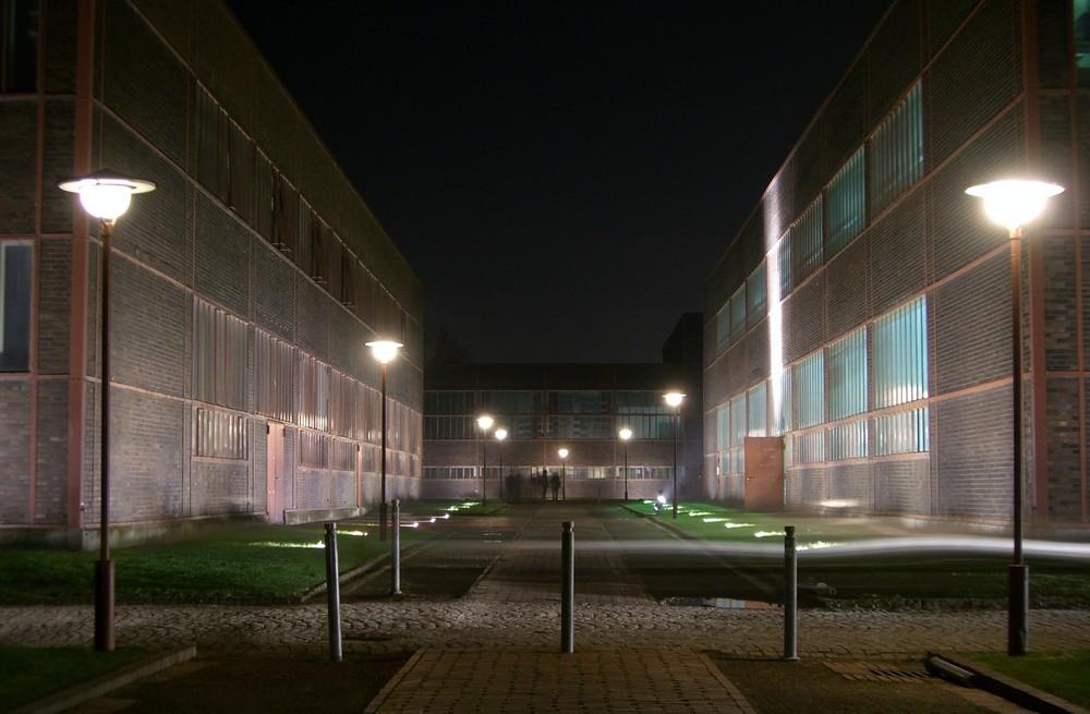 Nachts auf Zollverein