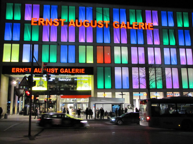 Nachts Bummel in Hannover