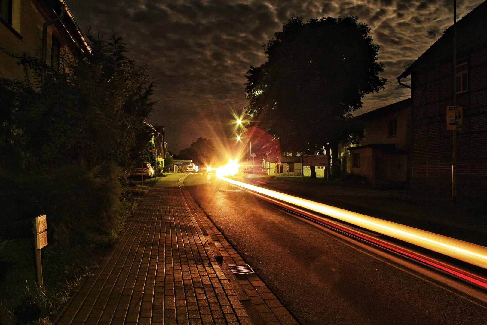 Nachts halb eins in Deutschland