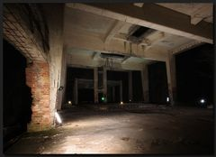 ...Nachts im Bunker...