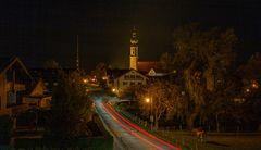 Nachts im Dorf