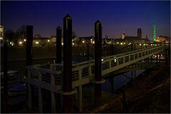 Nachts im Innenhafen