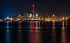 Nachts im Kieler Hafen