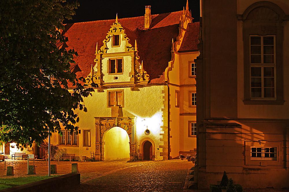 Nachts im Kloster