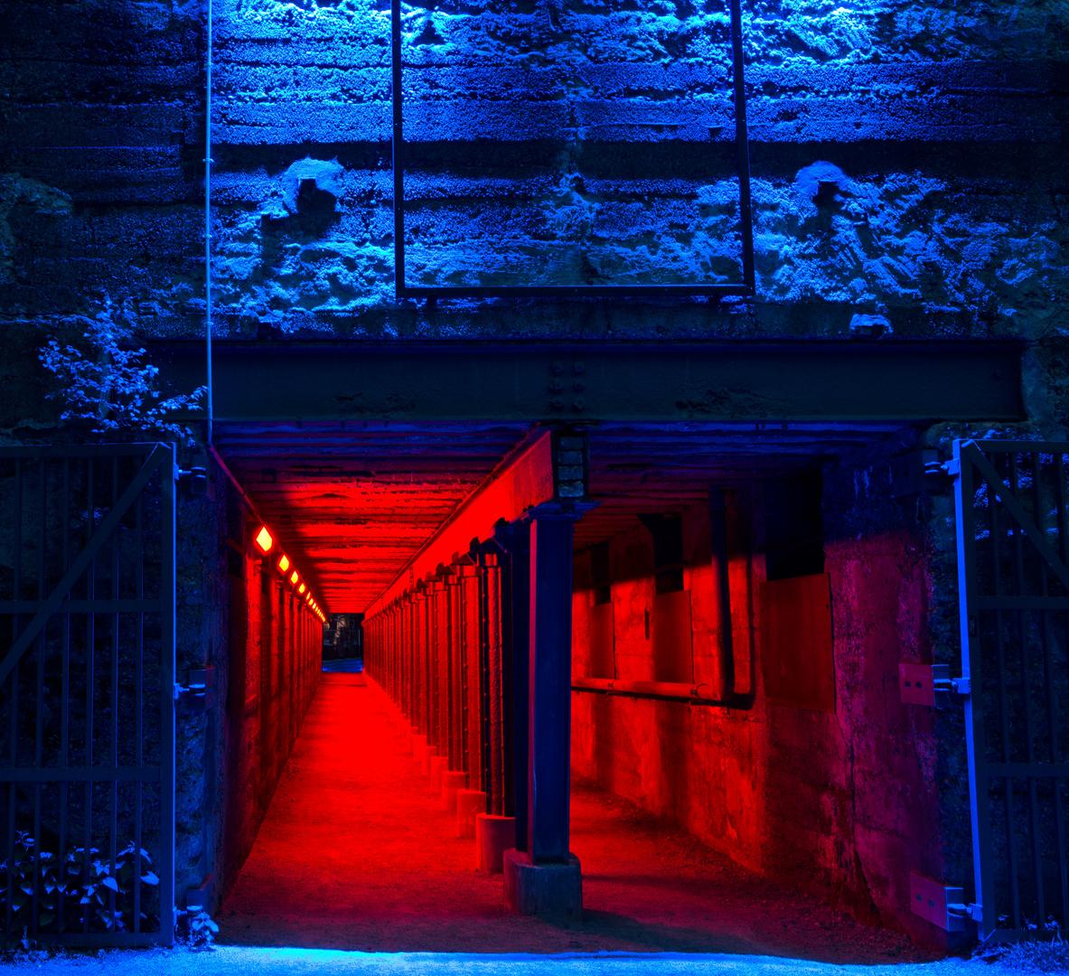 Nachts im Landschaftspark Duisburg Nord I...