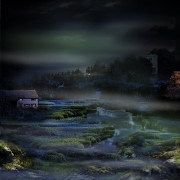 Nachts im Moor ...
