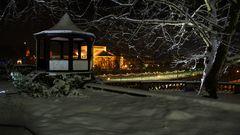 Nachts im Schloßpark