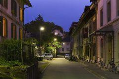 Nachts im Stadtbachquartier