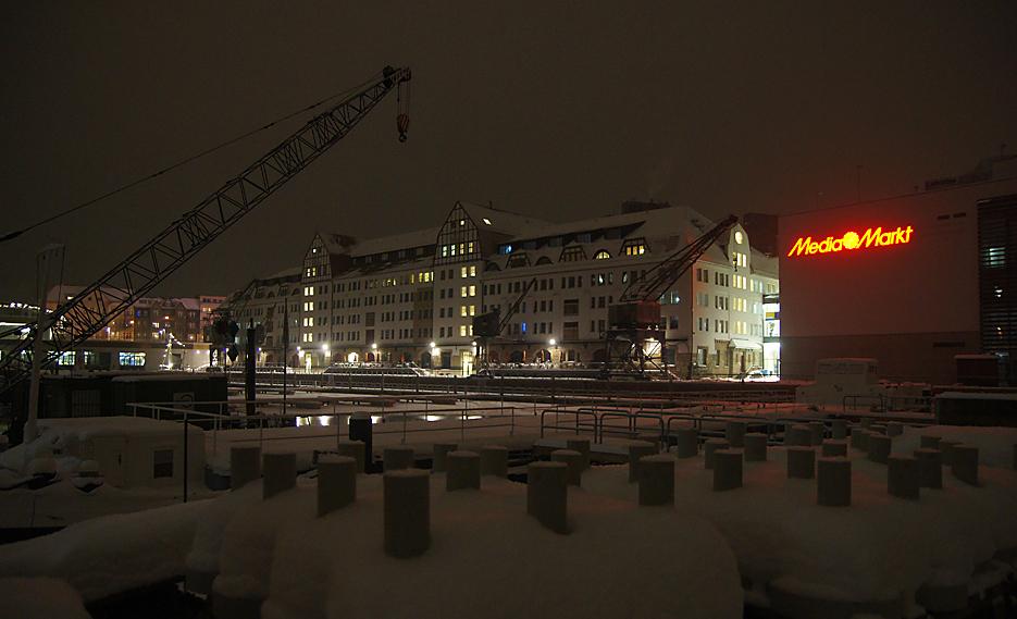 Nachts im Tempelhofer Hafen, 17.01.10 – 09