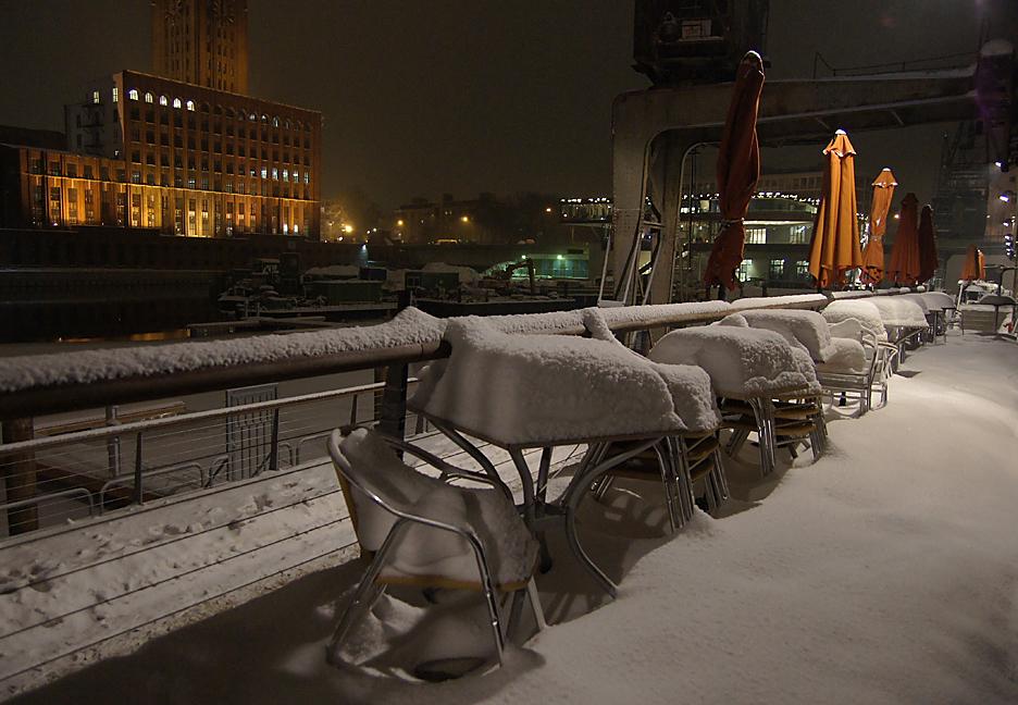 Nachts im Tempelhofer Hafen, 17.01.10 – 13