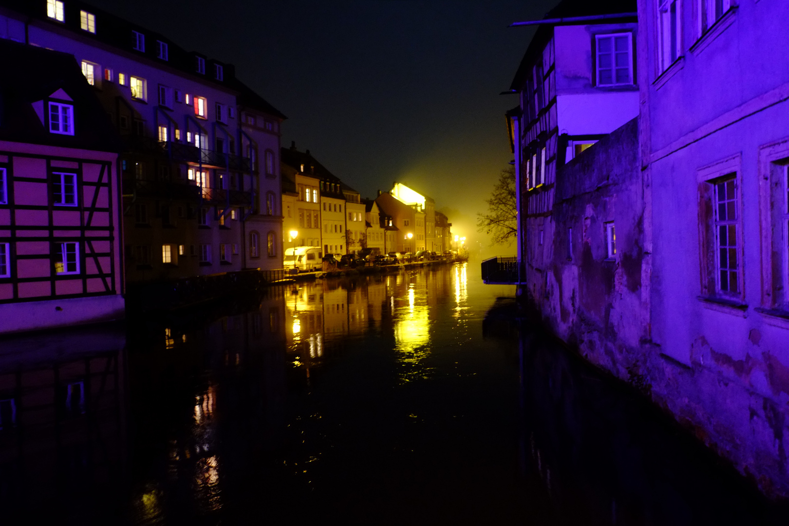 Nachts in Bamberg