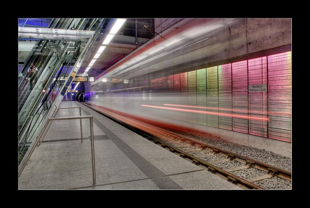 Nachts in Bochum...