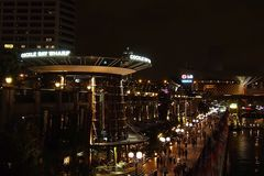 Nachts in Darling Harbour