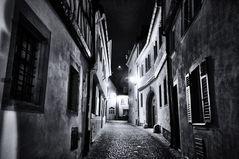 Nachts in den Straßen