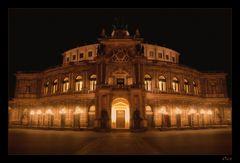 Nachts in Dresden