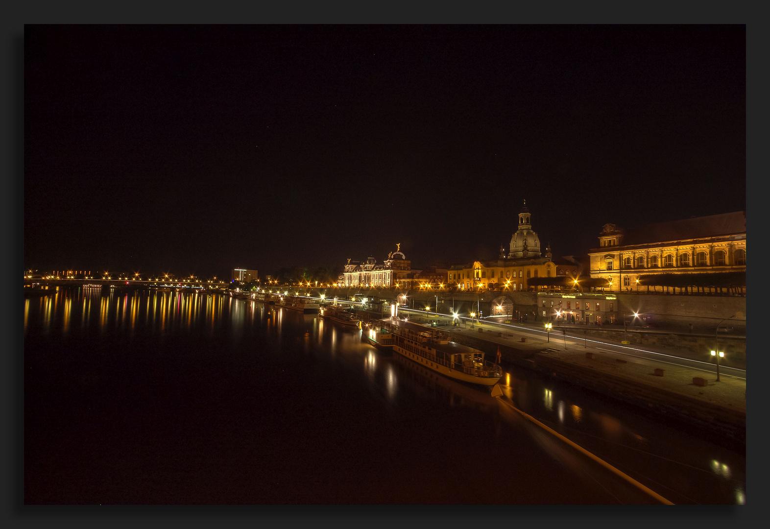 Nachts in Dresden..
