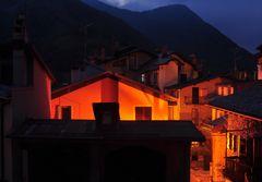 Nachts in Limone -Piemonte