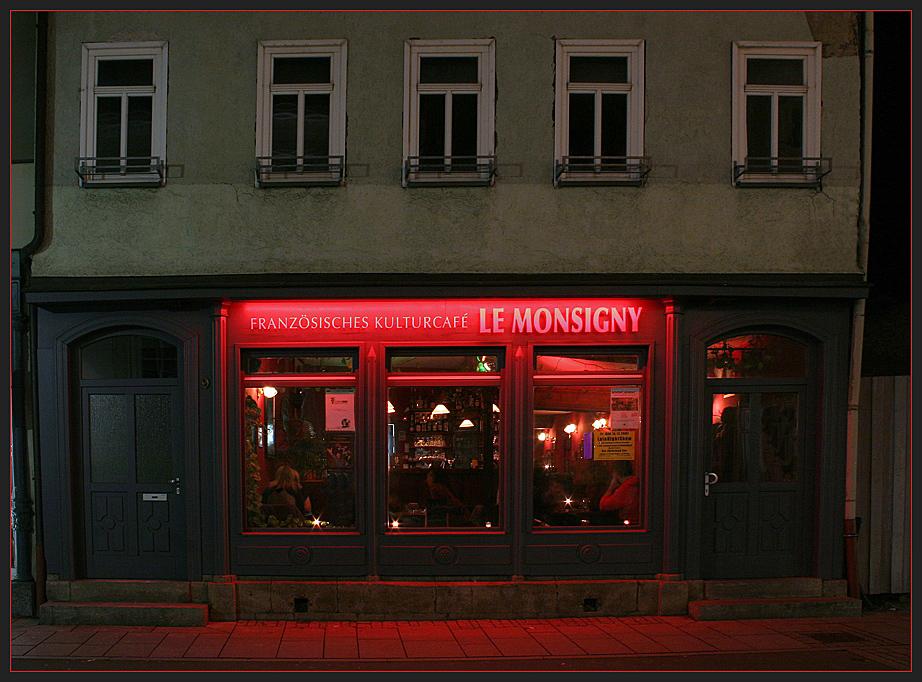 Nachts in Meiningen...