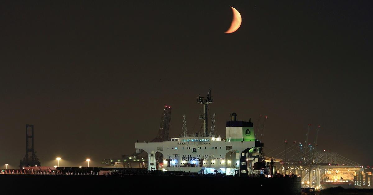Nachts in Rotterdam