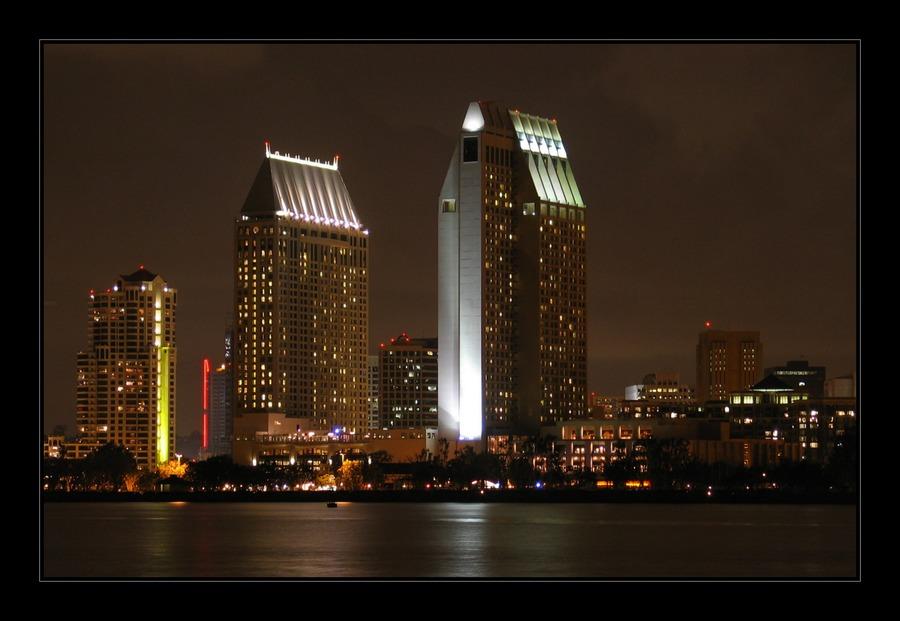Nachts in San Diego
