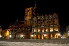 Nachts in Stralsund