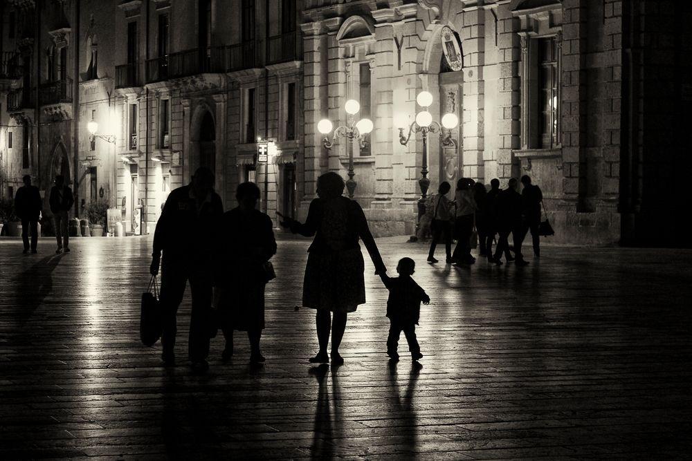 Nachts in Syrakus