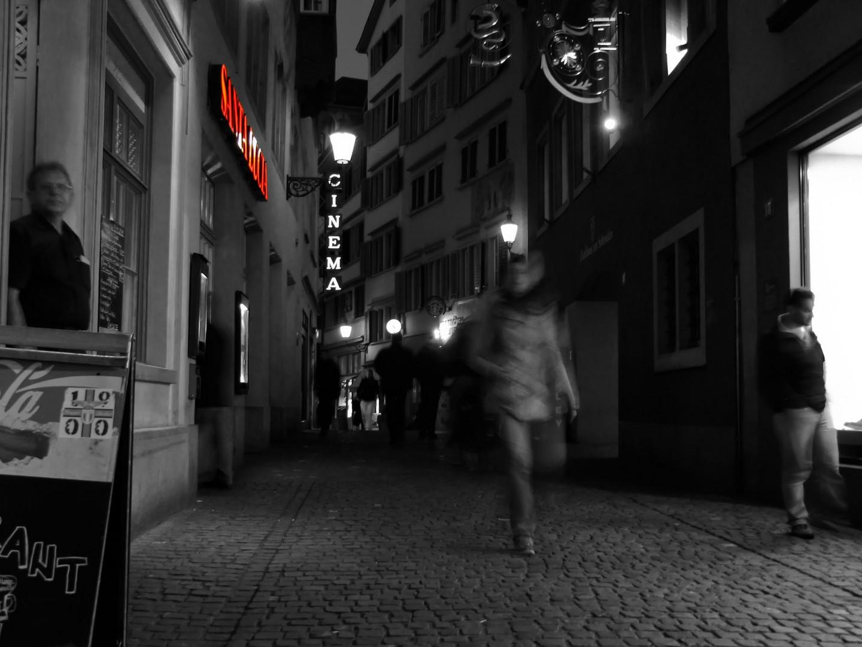 Nachts in Zuerich