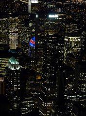 Nachts über der Stadt