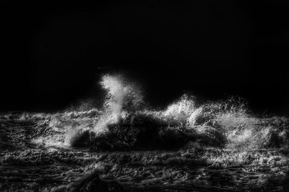 Nachts, wenn das Meer tobt!