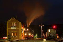 Nachtschwärmerfahrt auf der Preßnitztalbahn