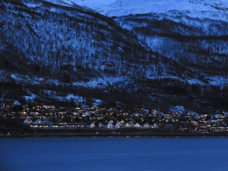 Nachtstimmung in den Fjorden