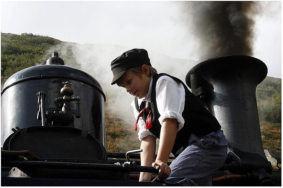 Nachwuchs bei der Furka-Dampfbahn