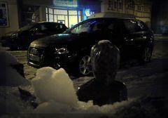 """""""nacktes"""" Kind im Schnee"""