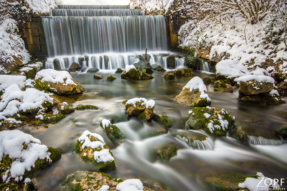 Nadasdy Klause/OÖ im Winter