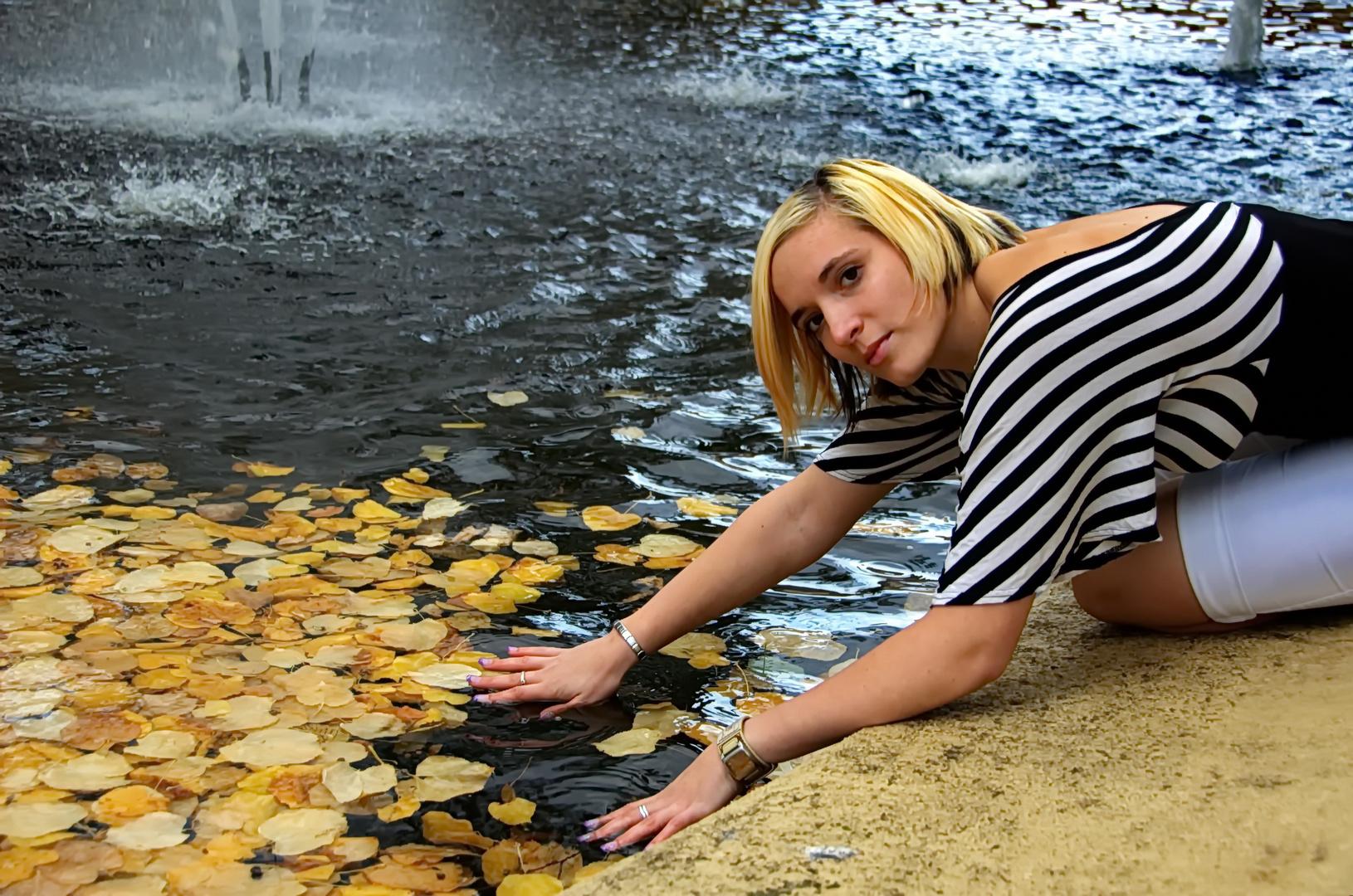 Nadine Sonnenschein im Foto - Shooting