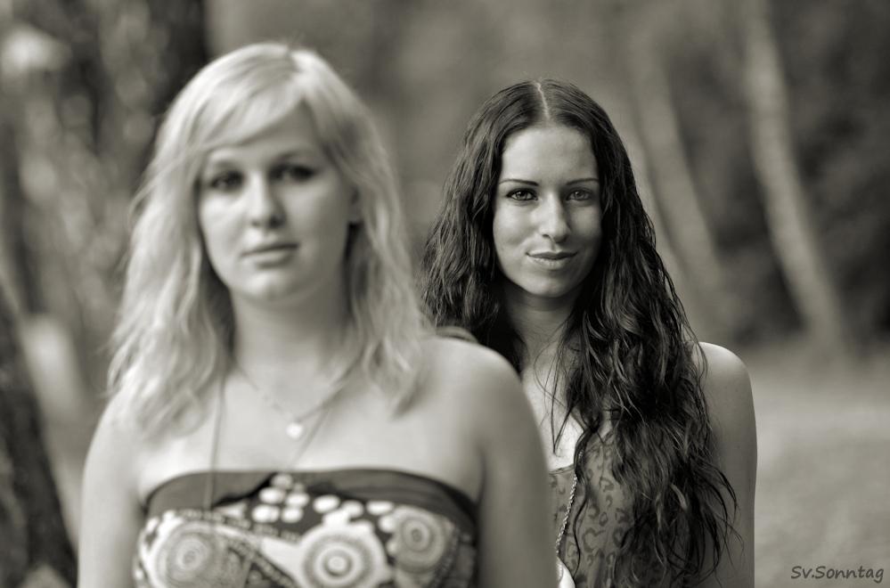 Nadja und Simmi