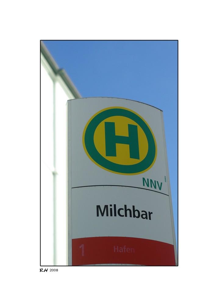"Nächster Halt ""Milchbar"""
