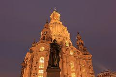 Nächtliche Frauenkirche