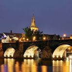 Nächtliche Karlsbrücke - Charles Bridge at night
