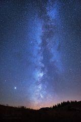 Nächtliche Kometensuche