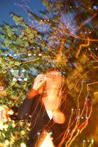 Nächtliche Seifenblasen
