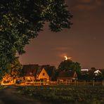 Nächtliches Dorf
